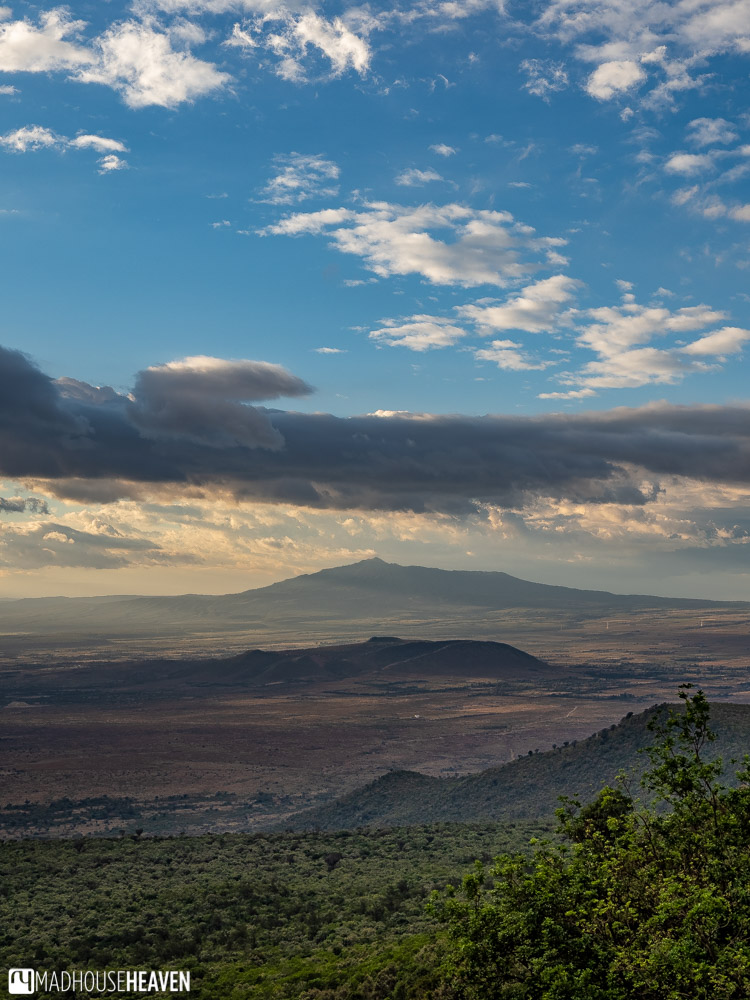 The majestic expanse of the Great Rift Valley in Kenya in all its glory, on our way back from the Hell's Gate