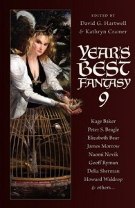 Book Cover: Year's Best Fantasy 9