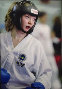 Tasha sparring