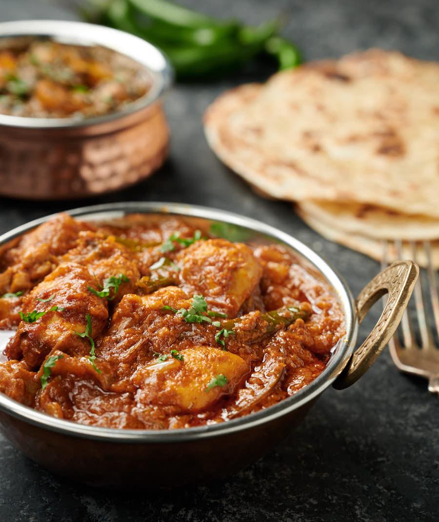 Dopiaza made with Madhuban Bhoona Sauce