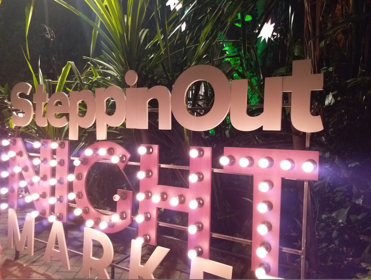 SteppinOut night market- cover page