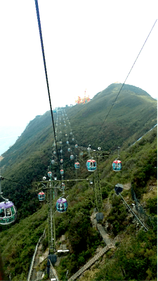 cable car to submit, Hongkong