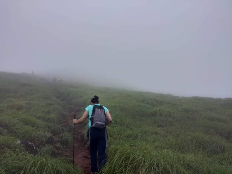 9. Climbing my way up, kumara parvatha