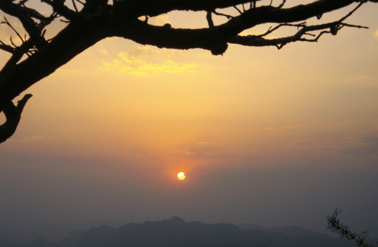 Dhoopgarh, Sunset panchmarhi.png