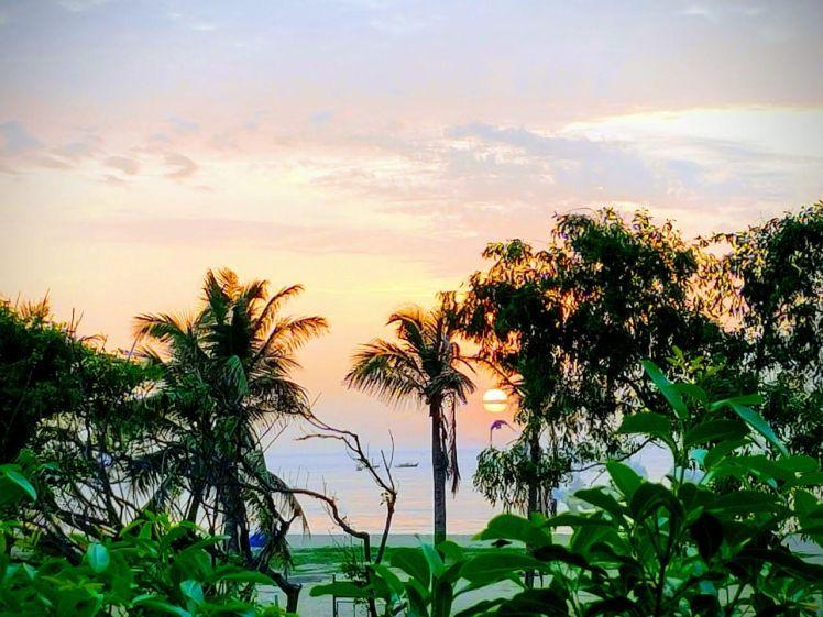 Sunrise, Pondicherry