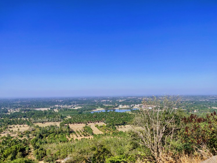 View from Bheemna kindi hills