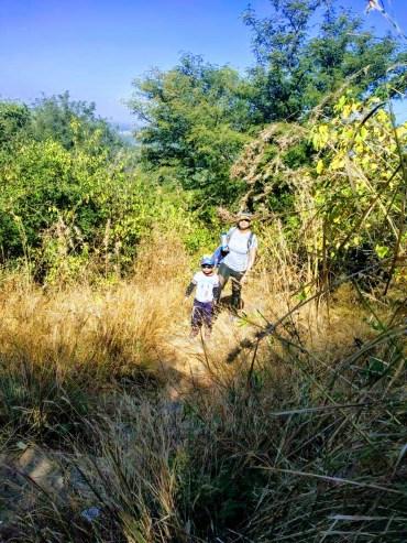 bheemnakindi hill trek