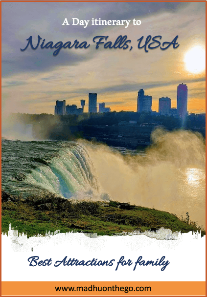 1 Day itenerary to Niagara fall, USA
