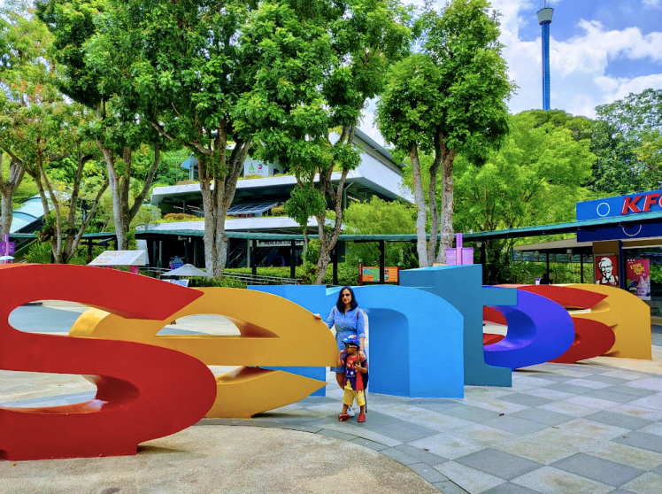 1 day itinerary to Sentosa Island for perfect family trip