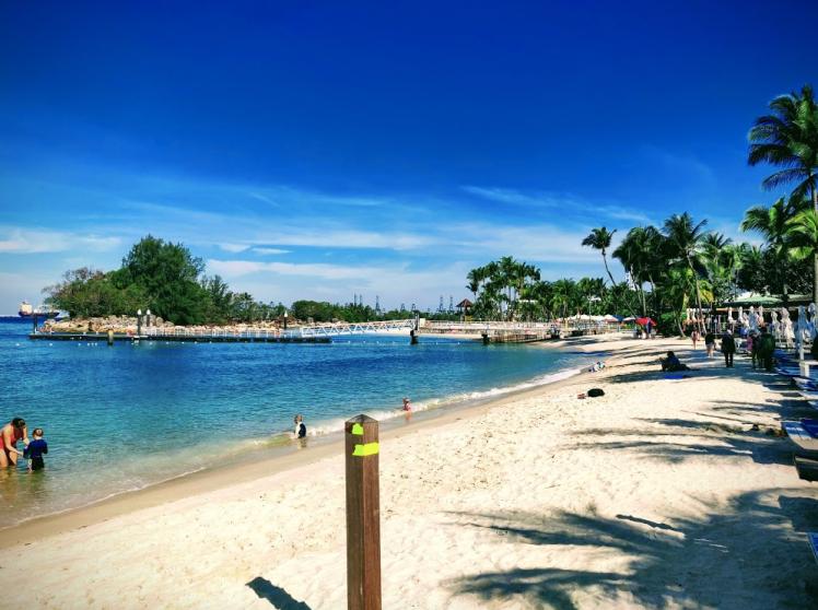 Silso beach, Sentosa Island