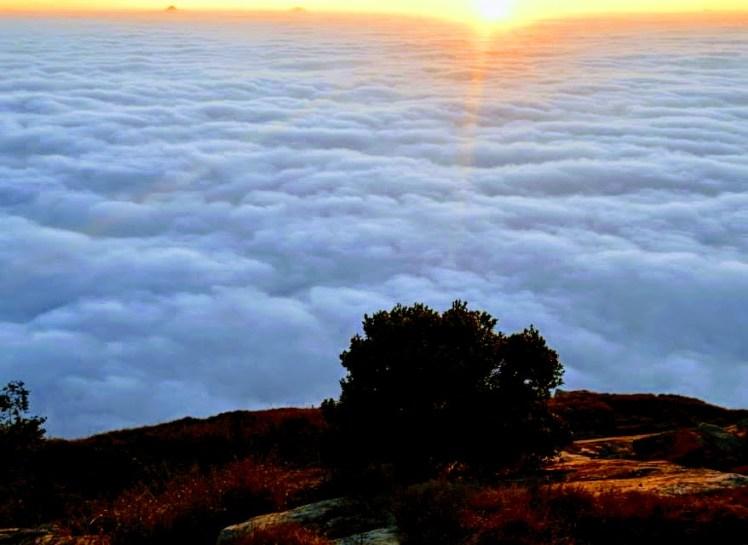skandagiri hills bangalore