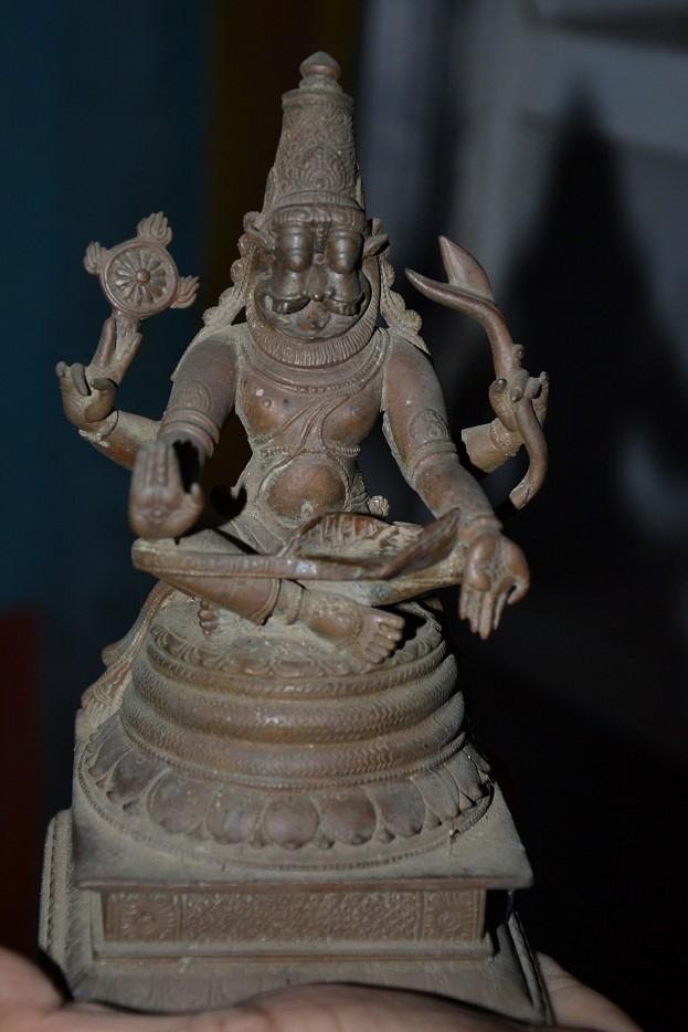 Sri Vijayeendrateertharu Nirmaitha Sri Ugra Narasimha Vighraha