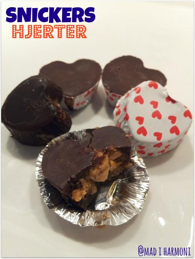 Snickers hjerter