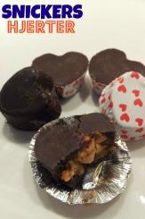 Snickers hjerter – nul sukker, max nydelse