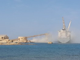 Phosphate Shipping from Red Sea Oort