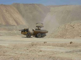 MCC CAT Equipment in south Egypt