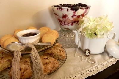 Tea Party–English Toffee Scones