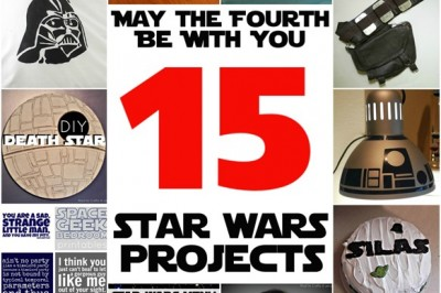 May the Fourth Be With You–15 Star Wars Crafts