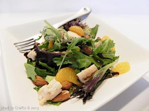 Quick Sesame Ginger Salad
