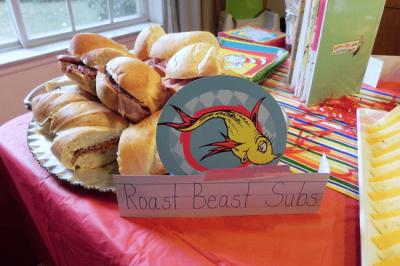 Dr. Seuss Party Food