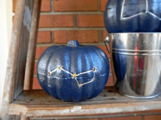 Drilled Constellation Pumpkins