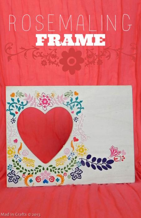 Easy Rosemaling Frame