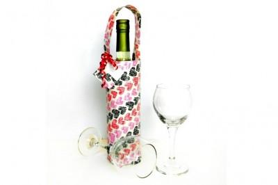 Duck Tape Wine Gift Bag