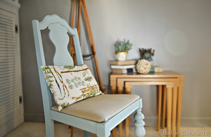 Chair Makeover Chalky Paint