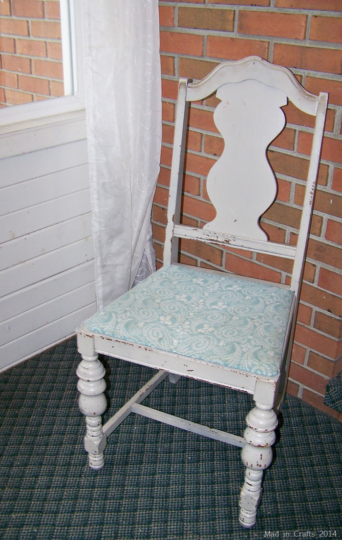 Chalk Paint Chair Before