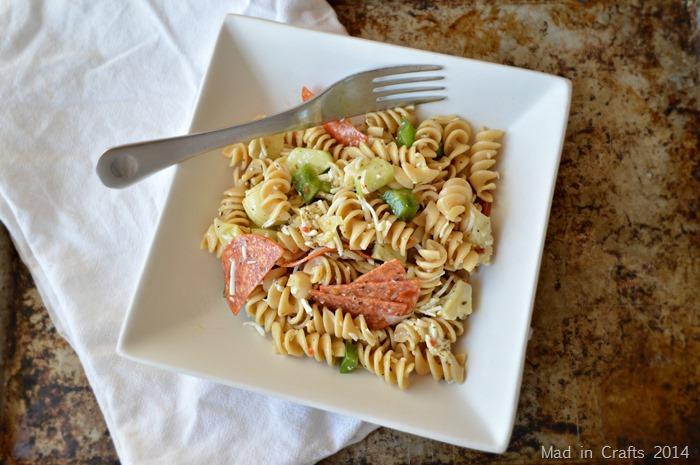 Easy Make Ahead Pasta Salad