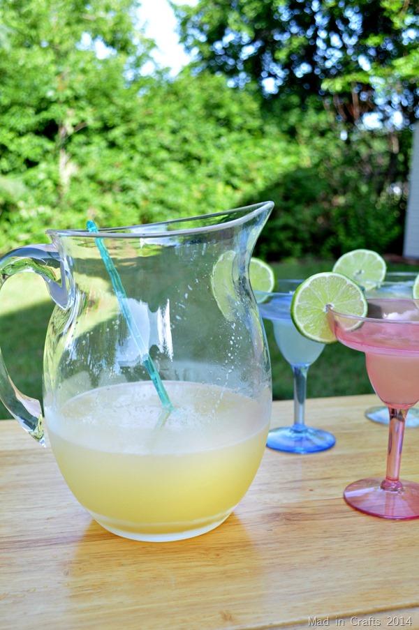 Summer Beer Margaritas
