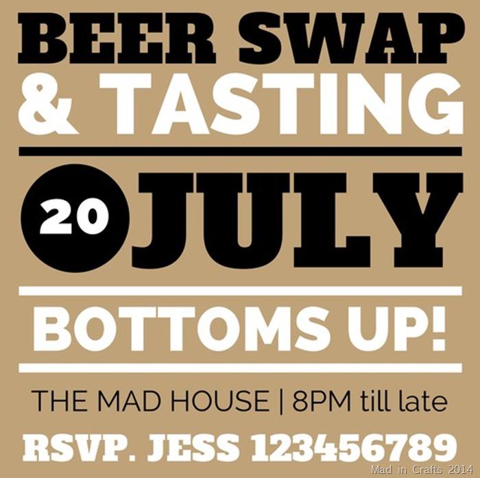Beer Swap Invite