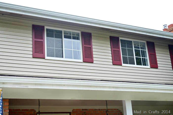 shutters before