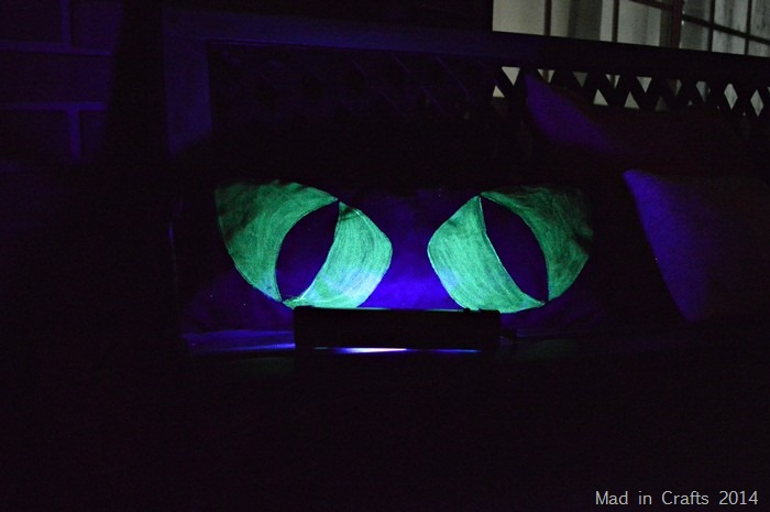 Glow Paint with Black Light