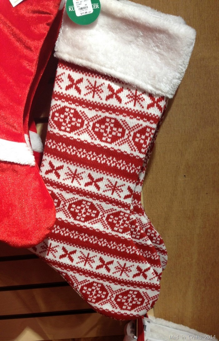 Christmas Fair Isle Stockings