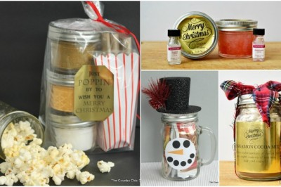 HOLIDAY GIFTS WITH FREE PRINTABLES