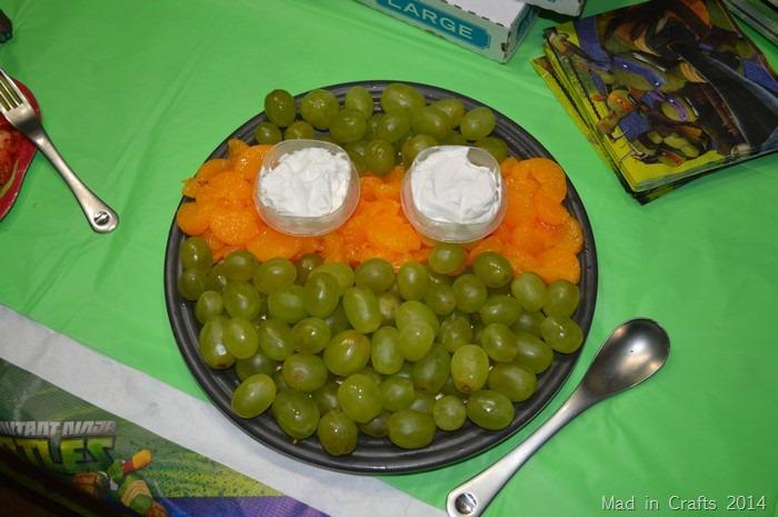 tmnt fruit plate