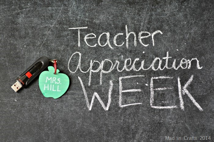Teacher Appreciation Gift Thumb Drive