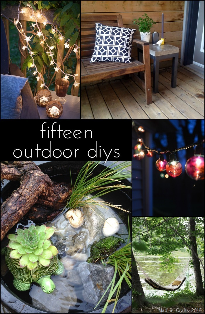 Check out these amazing DIY projects! I want them all in my yard!