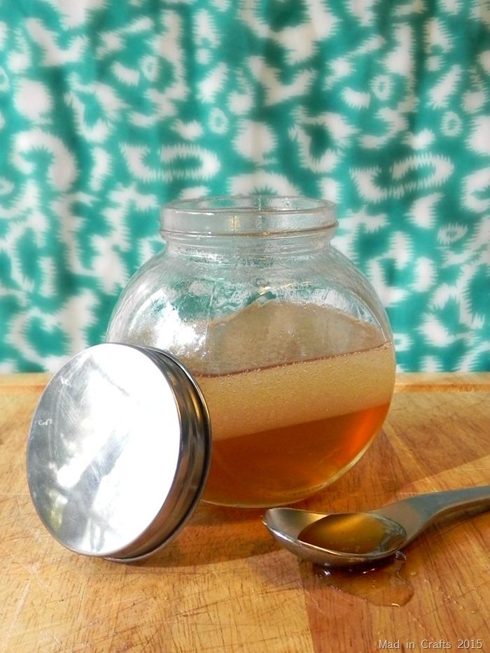 honey coconut oil hair mask