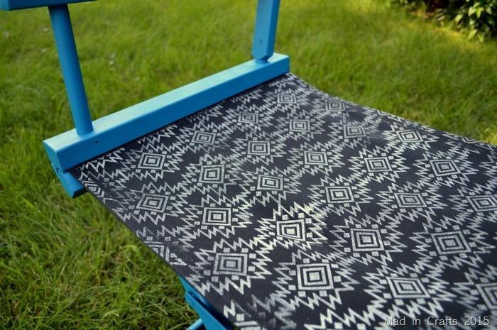 Plutonium painted chair