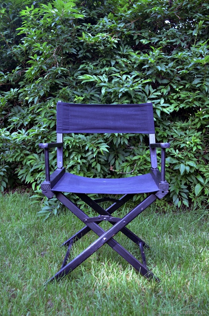 directors chair before