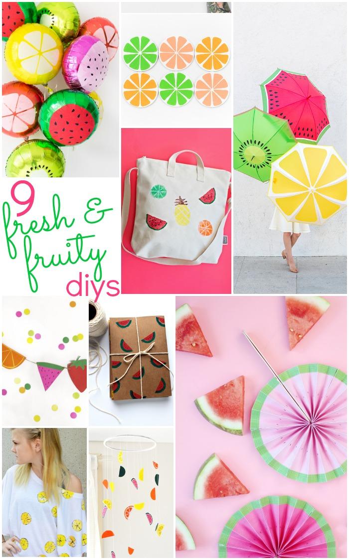 9 Fruit Slice DIYS