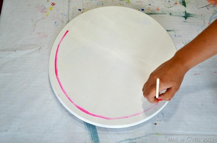 painterly circles