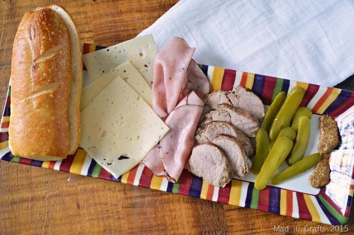 Cuban sandwich ingredients