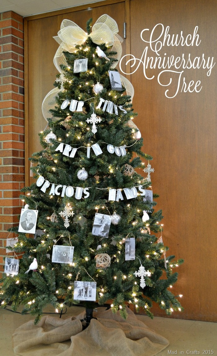 CHURCH ANNIVERSARY CHRISTMAS TREE