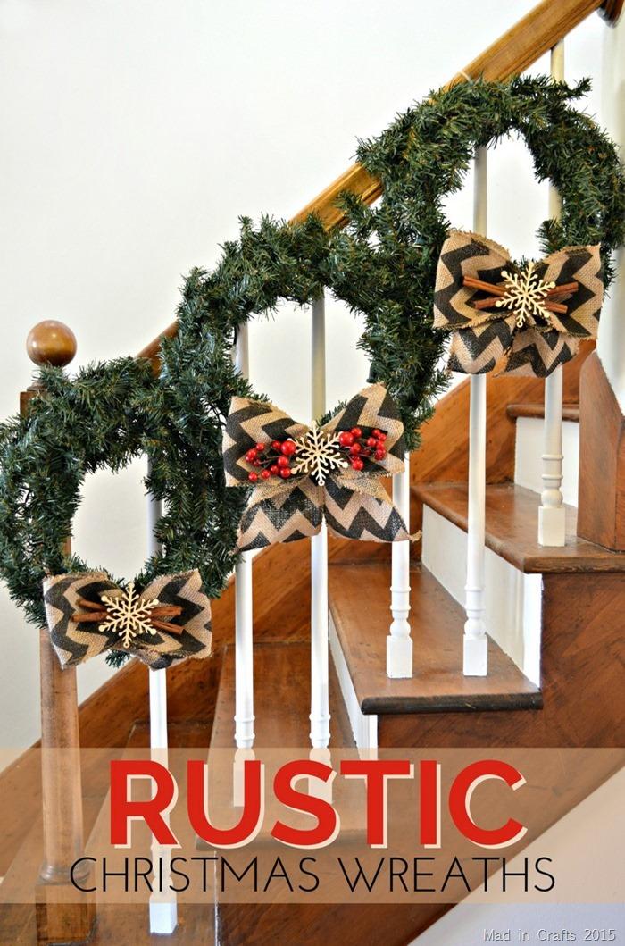 Rustic Christmas Wreaths