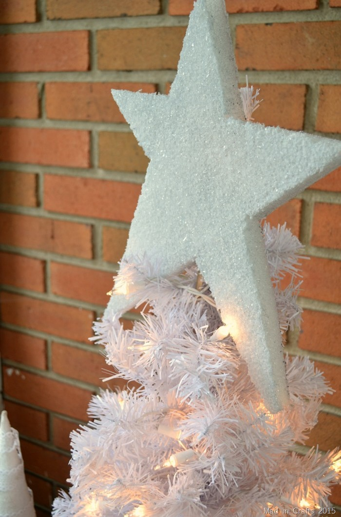 Sparkly Styrofoam Star