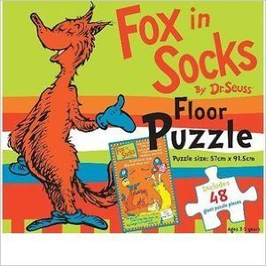 Dr. Seuss Fox in Socks puzzle