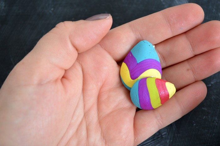 clay easter pin